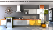 Open-space kitchen