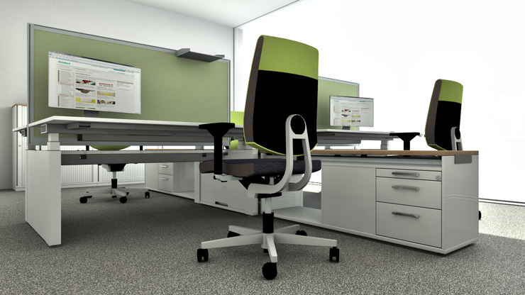 Workstation by Sedus - pCon.catalog