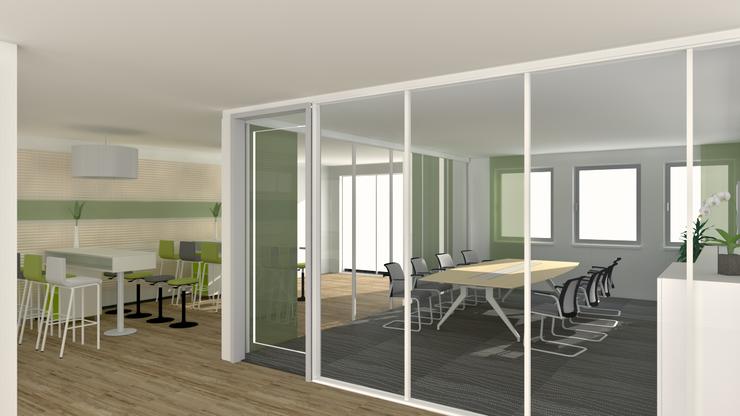 offene besprechungen von steelcase. Black Bedroom Furniture Sets. Home Design Ideas